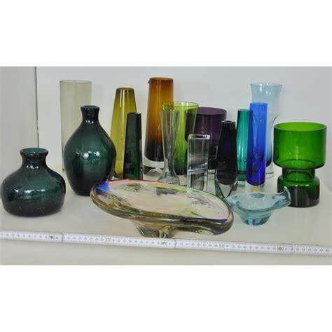vase en verre scandinave