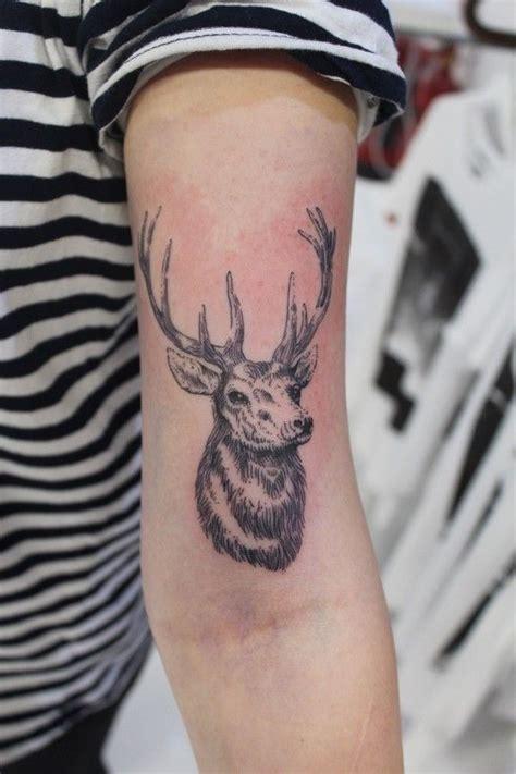 fine line tattoo style 1000 ideas about elk on wildlife