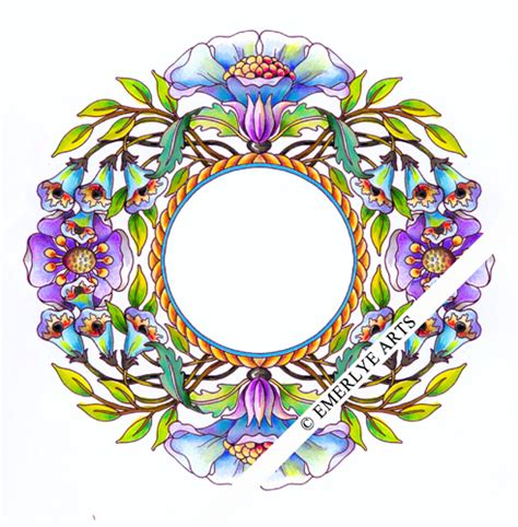 coloring pages for adults finished cynthia emerlye vermont artist and life coach wreaths