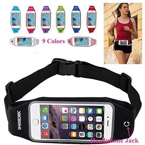 Primary Pouch Iphone 7 4 7 Black amnerd ufashion3c universal running waist pack belt
