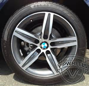 17 inch bmw f20 f21 wheels style 379 with summer tyres