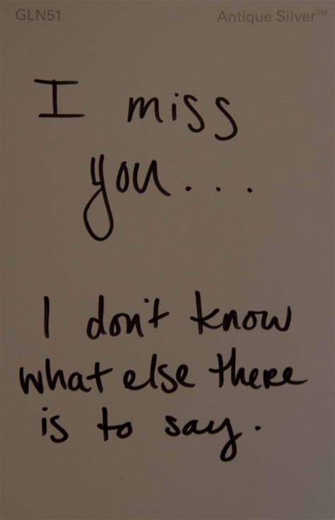 Missing Quotes I Miss You Quotes More Quotesgram