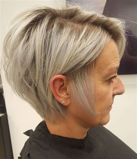 good hairstyles for long in the back short in the front hair 90 classy and simple short hairstyles for women over 50