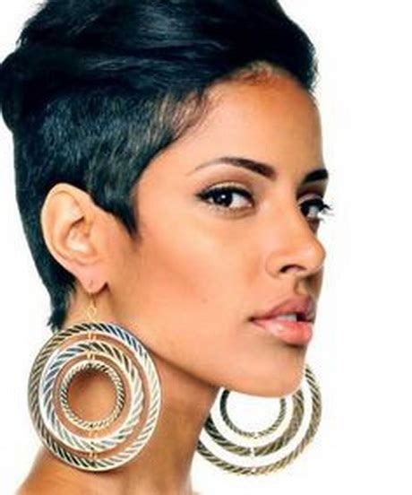 black women tapered short hair cuts for plump face short tapered haircuts for black women