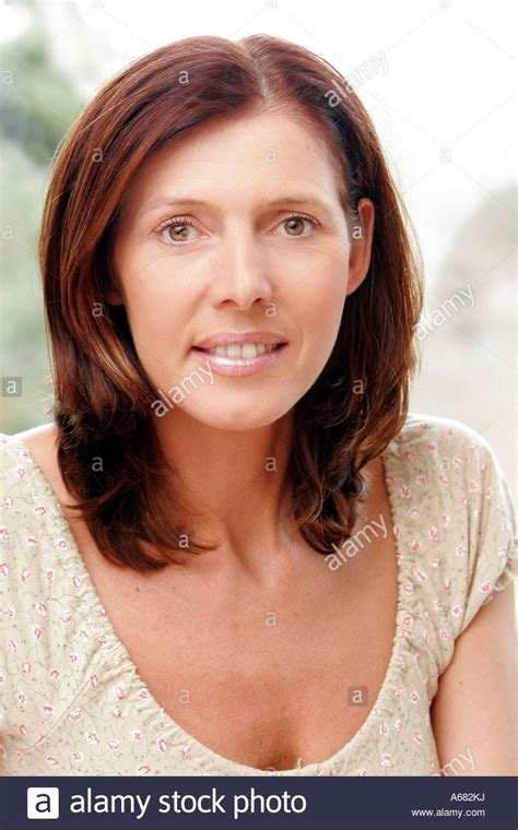 Images Of 45 Year Old Wemen | portrait of a 45 year old woman stock photo royalty free