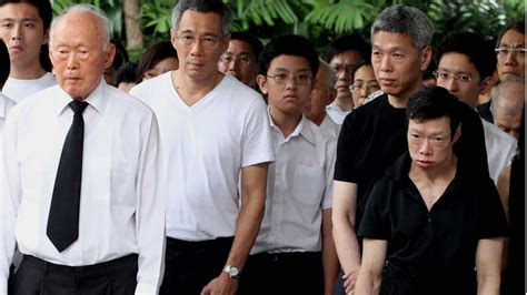 lee hsien loong fathers state funeral will be a moment siblings of singapore pm fear for their safety accusing