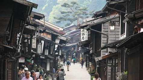 japanese town historic towns and districts in japan