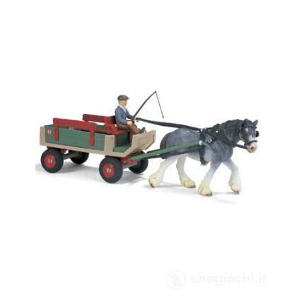carrozza a cavalli carrozza a cavalli 40190 veicoli schleich