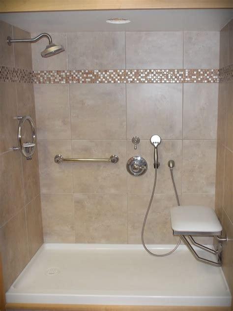 bathroom design for seniors walk in shower sonnenburg builders inc manitowoc wisconsin