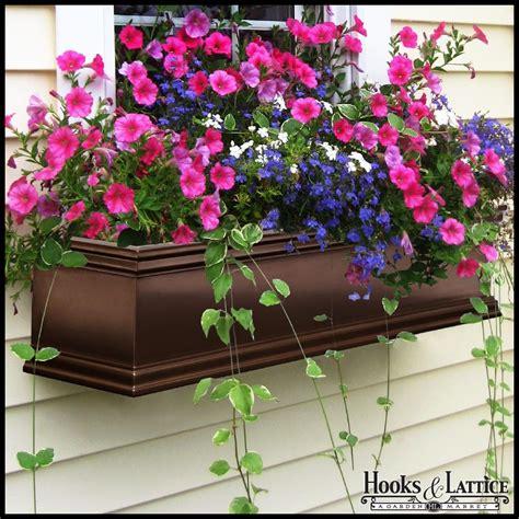 bronze window boxes armorecoat laguna bronze window box bronze plated flower box