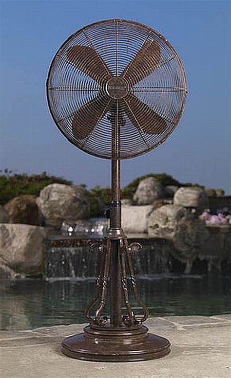 waterproof outdoor oscillating fans outdoor ceiling standing fans misting fan