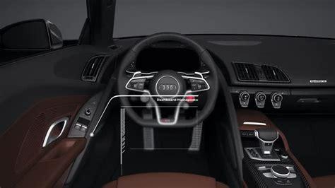 Audi R8 Innenraum by Elektrik Elektronik Audi Technology Portal