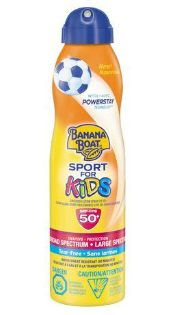 banana boat self tanner walmart canada banana boat sport for kids sunscreen lotion spray