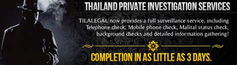 Criminal Record Check Thailand Background And Criminal Record Check By Thai Investigator Tila