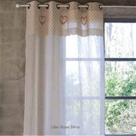 Délicieux Decoration Interieur Campagne Chic #6: rideau-beatrice-blanc-mariclo.jpg