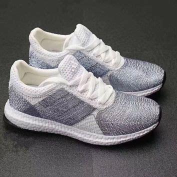 Sepatu Running Sport Casual Adidas Yezzy 350 White Grey shop crochet sneakers on wanelo