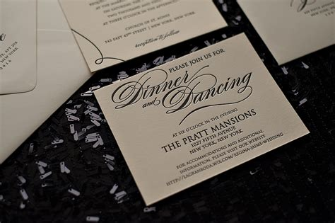 wedding invitations black tie event invitation templates for black tie event choice image