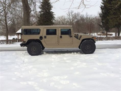 Humm3r Dobermann Size 39 44 find used hummer h1 1995 4door top wagon 4bt 4cyl cummins conversion in chillicothe ohio