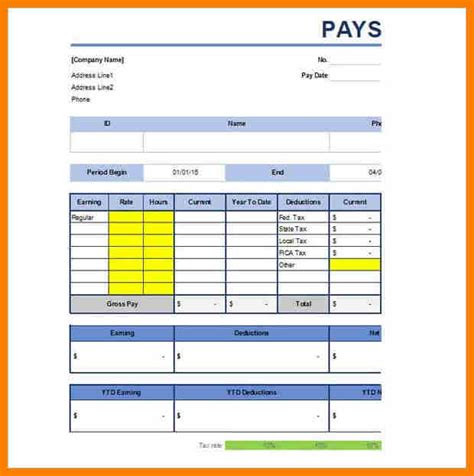 1099 pay stub template free 14 free 1099 pay stub template pay stub format