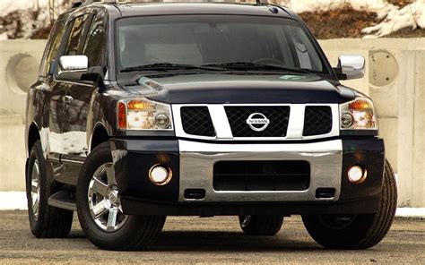 black nissan armada nissan armada suv car wallpapers