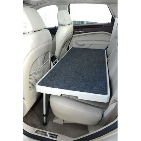 Truck Bed Cot The Backseat Safety Dog Deck Hammacher Schlemmer