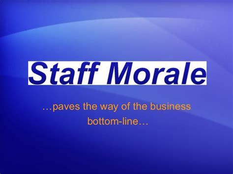 Search Morale Staff Morale