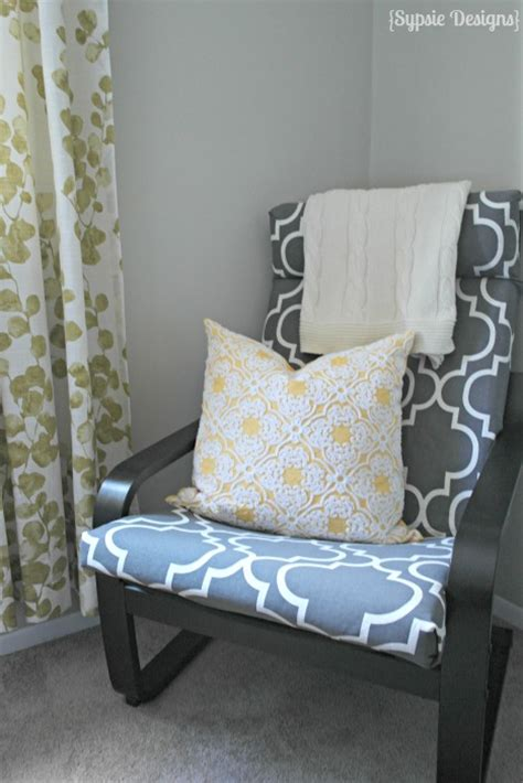 ikea poang chair slipcover 13 easy and fast diy ikea poang chair hacks shelterness