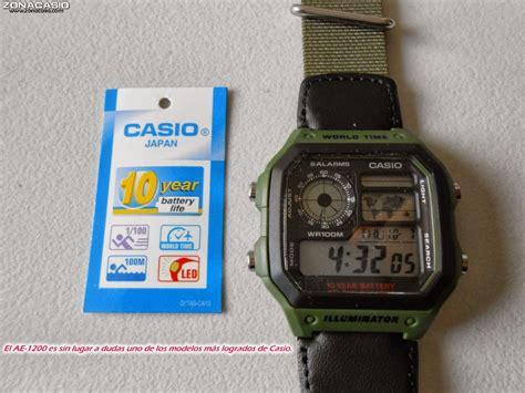 Casio Ae 1200 reloj casio ae 1200 con correa textil u s 60 00 en mercadolibre