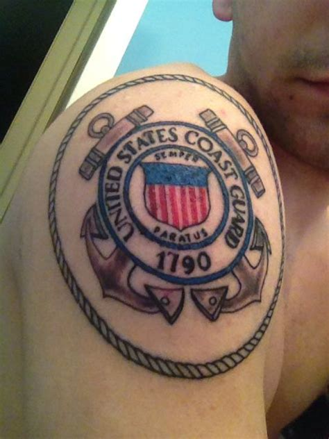 coast guard tattoos newest coast guard coast guard