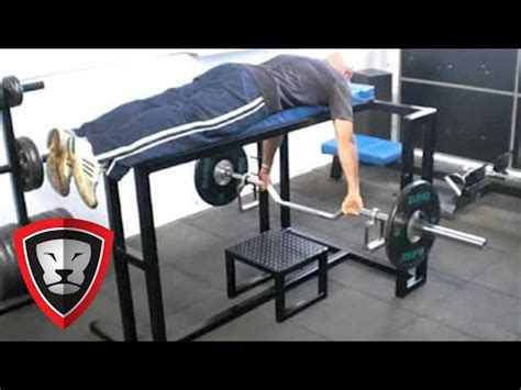 bench pull getstrength com boss bench pull youtube
