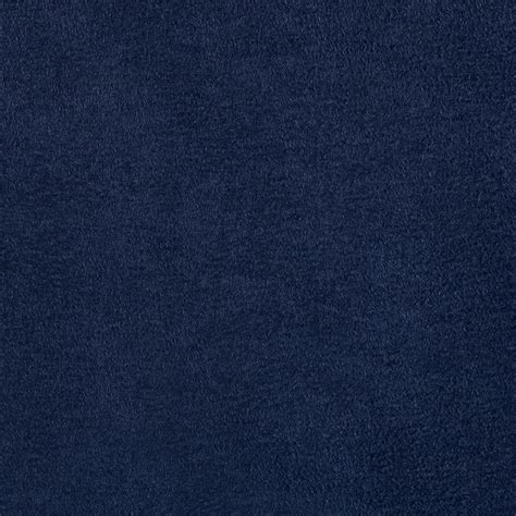 Navy Blue Suede Suede Fashion Fabric Suede By The Yard Fabric