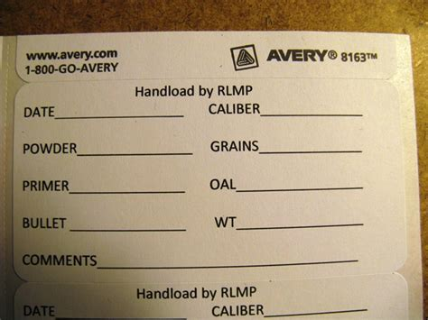 printable reloading labels reloading labels gear illinoiscarry com