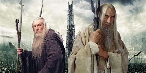 Lord Of The Ring Gandalf the lord of the rings facts about saruman screen rant