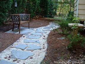 diy stepping stone walkway ideas tips to build stone walkways yourself fun times guide to