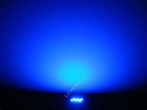 led b9 blue 2x dome map interior light bulb 9 smd circle