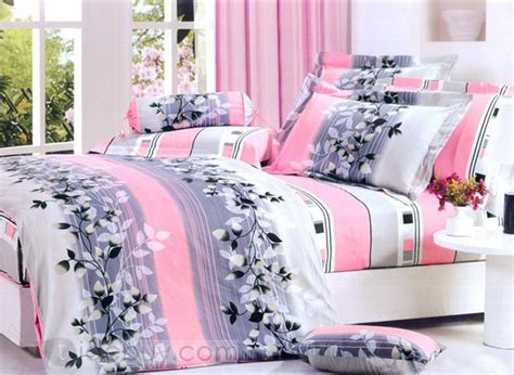pink and gray bedding grey and pink comforters bedroom ideas pictures