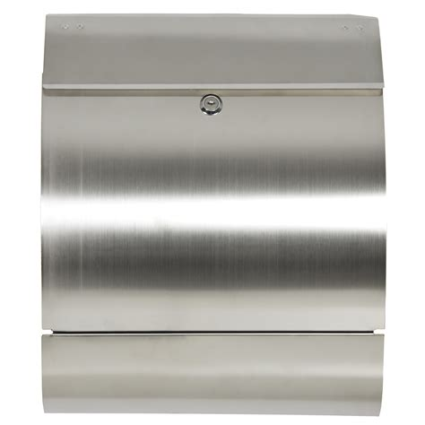 stainless steel mailbox mailbox stainless steel locking mail box letterbox postal