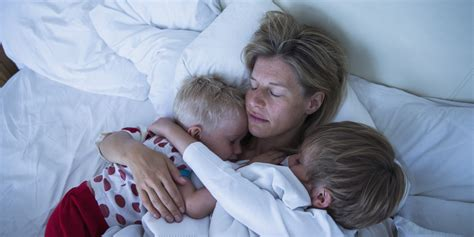 u in bed when should children sleep in their own beds huffpost