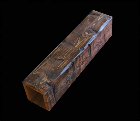 custom decorative cedar box beams from woodland custom custom beams archives woodland beam