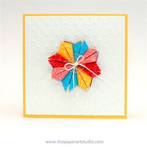 Tea Bag Paper Folding - tea bag folding thepaperartstudio