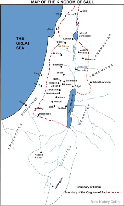 The Warrior The Herod Chronicles map of the kingdom of saul bible history