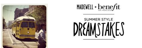 Madewell Sweepstakes - madewell benefit summer style dreamstakes win a trip to san francisco