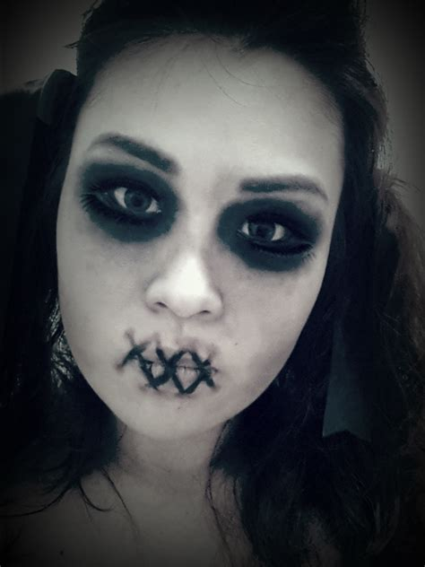 ideas scary makeup look inspired by promise phan s creepy