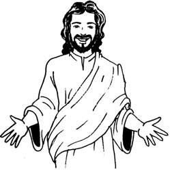 malvorlagen fur kinder ausmalbilder jesus kostenlos konabeun