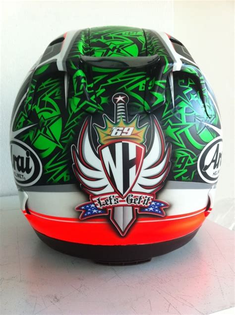 arai rx gp n hayden laguna seca 2013 quot full metal nicky quot by 82 best images about helmets on pinterest feature film