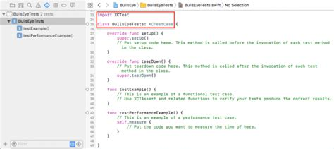 tutorial xcode unit test ios unit testing and ui testing tutorial