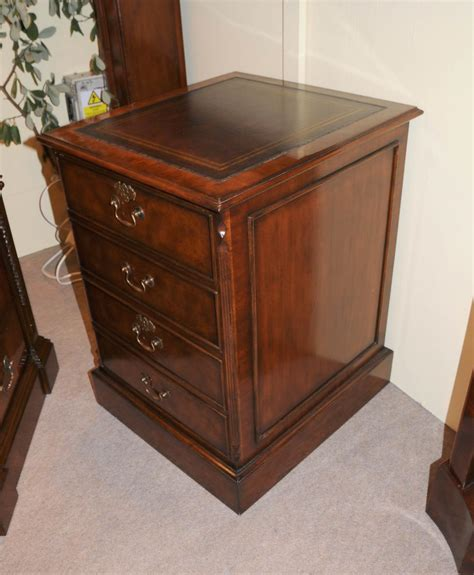 mahogany office file cabinet drawer chest filing