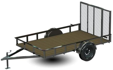 Building Homemade Utility Trailer Autos Post Building Plans For Utility Trailers