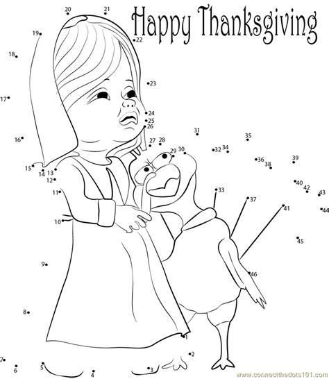 printable dot to dot thanksgiving lovely thanksgiving day dot to dot printable worksheet