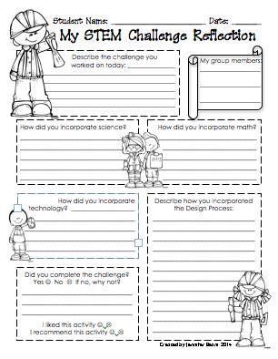 Stem Worksheets by Http Www Teacherspayteachers Product Stem Challenge